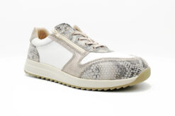 Nimco Made 4 You-7006 Sharon Lace-White / Nude Snake-rechts