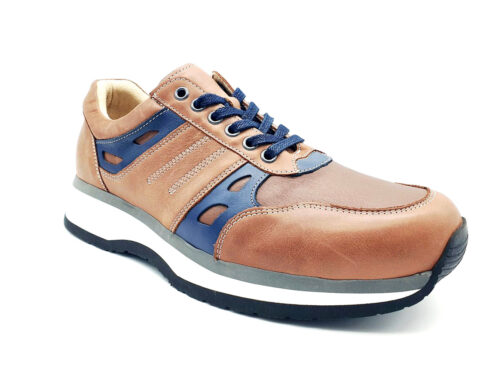 Nimco Made 4 You-7504 San Francisco-Cognac / Navy-rechts