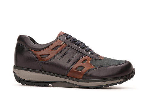 Xsensible Stretchwalker-New York-Navy / Cognac-links
