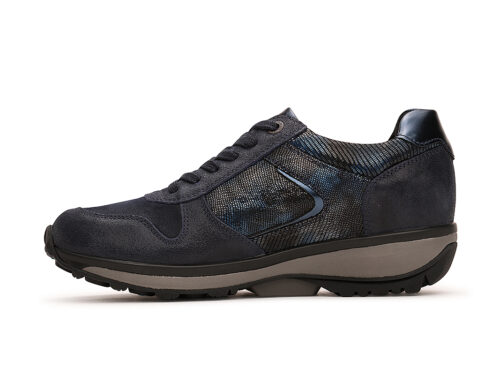 Xsensible Stretchwalker-Jersey-Dark Blue Metallic-schuin