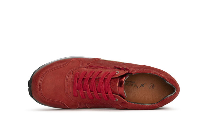 Xsensible Stretchwalker-Jersey-Coral Red-bovenkant