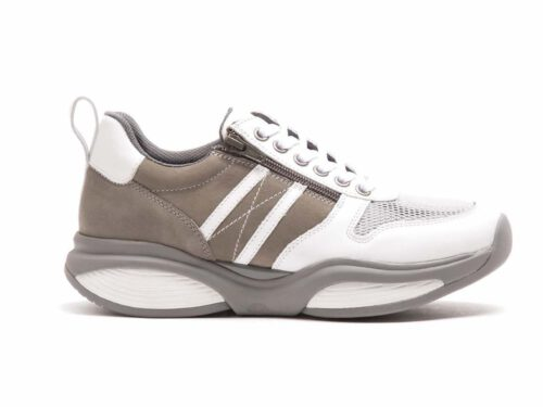 Xsensible Stretchwalker-SWX3 - Men-White / Taupe-links