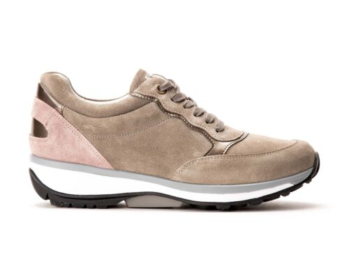 Xsensible Stretchwalker-Carrara-Sand / Pink-links