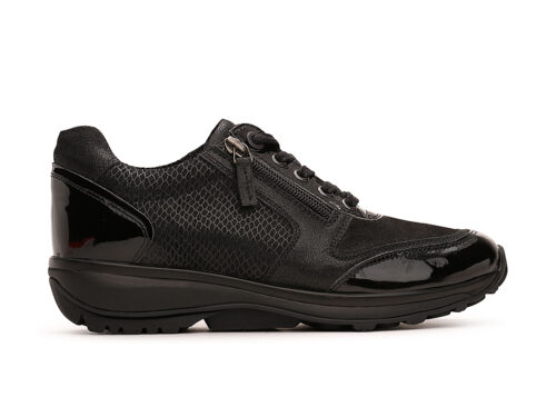 Xsensible Stretchwalker-Wembley-Black Patent-links