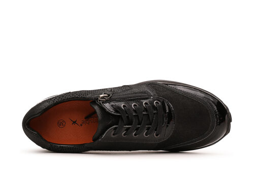 Xsensible Stretchwalker-Wembley-Black Patent-bovenkant