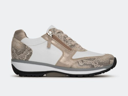 Xsensible Stretchwalker-Wembley-White / Nude Snake-links