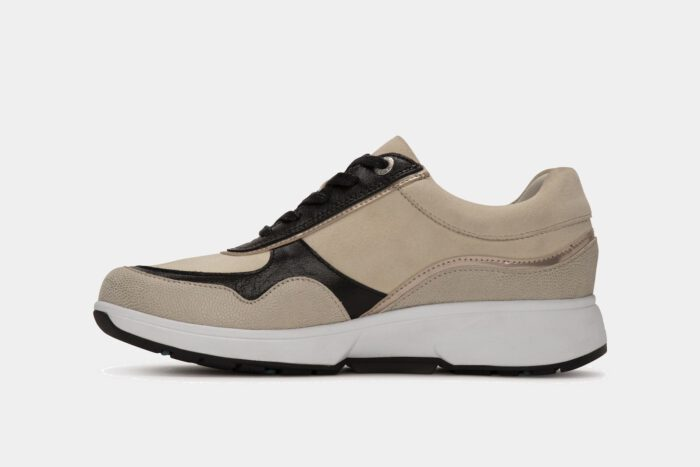 Xsensible Stretchwalker-Lima-Off White / Black-schuin