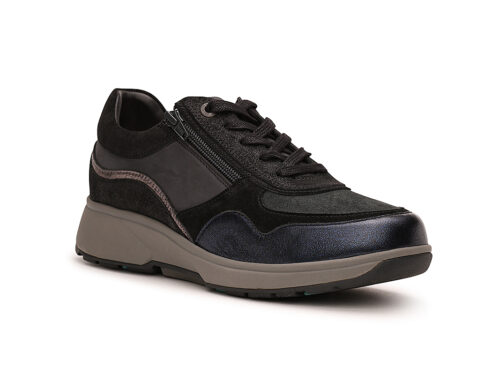 Xsensible Stretchwalker-Lima-Navy / Black-rechts
