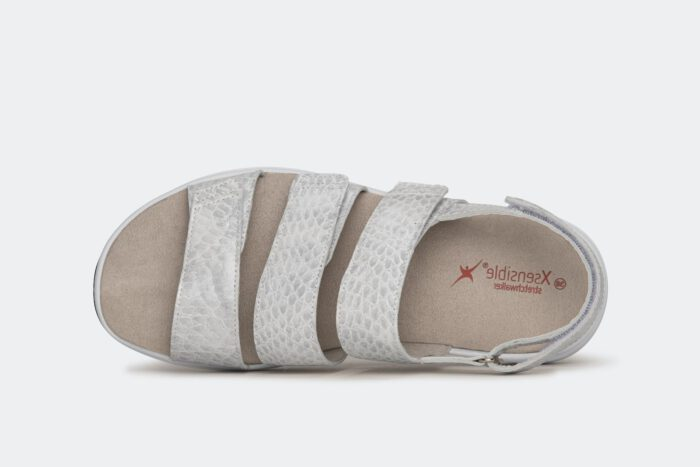 Xsensible Stretchwalker-Flores-Off White Croco-bovenkant