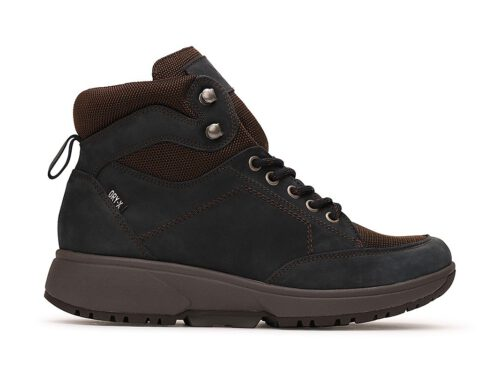 Xsensible Stretchwalker-Seattle Women  Dry-X-Navy / Brown-links