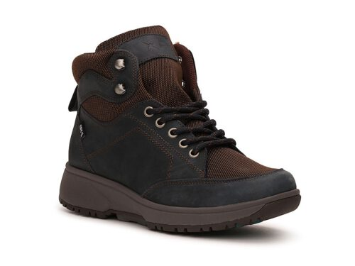 Xsensible Stretchwalker-Seattle Women  Dry-X-Navy / Brown-rechts