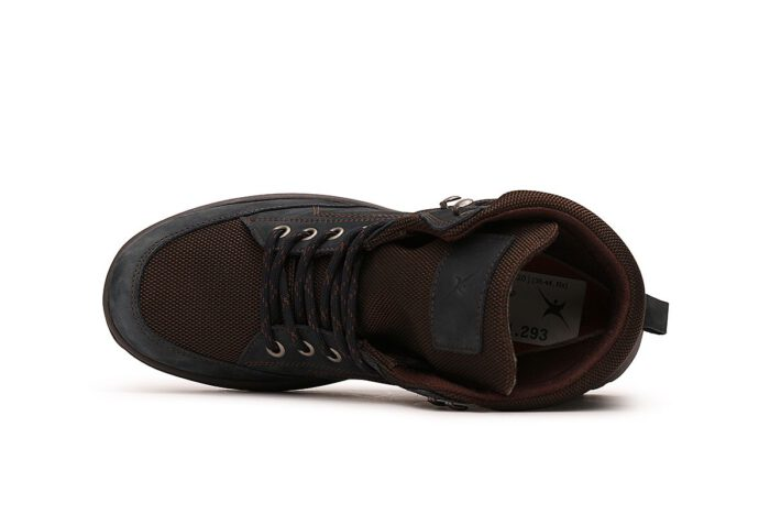 Xsensible Stretchwalker-Seattle Women  Dry-X-Navy / Brown-bovenkant