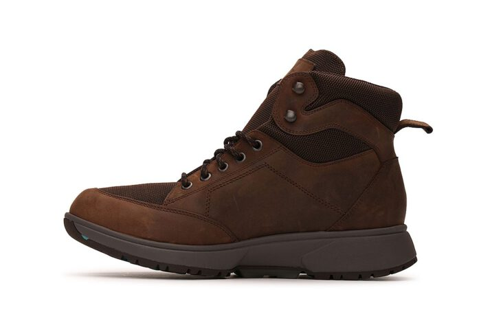 Xsensible Stretchwalker-Seattle Men Dry-X-Brown-schuin