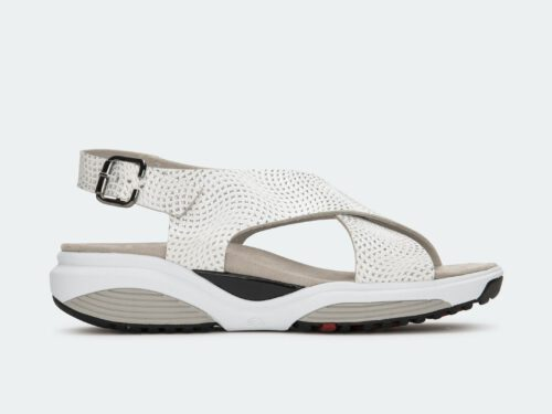 Xsensible Stretchwalker-Corfu-White / Silver Hypnotic-links