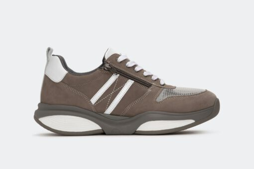 Xsensible Stretchwalker-SWX3 - Men-Taupe / White-links