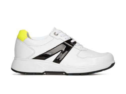 Xsensible Stretchwalker-Amsterdam-White / Black / Fluo-links