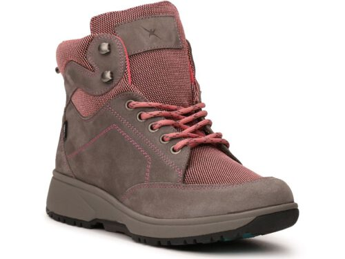 Xsensible Stretchwalker-Seattle Women-Stone / Pink-rechts