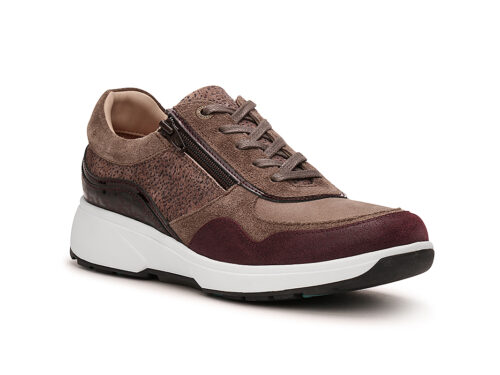 Xsensible Stretchwalker-Lima-Taupe / Wine-rechts